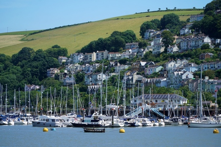 Kingswear, Devon Marina and Houses