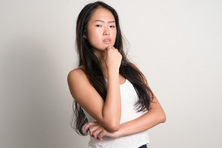 east asian ethnicity: Beautiful Chinese woman