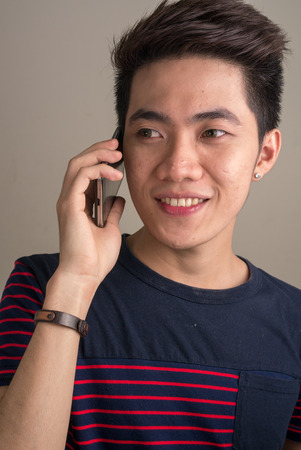 filipino ethnicity: Young asian man Stock Photo