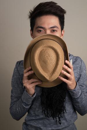 filipino ethnicity: Young asian man Stock Photo