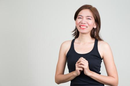 southeast asian ethnicity: Portrait of Asian woman Stock Photo