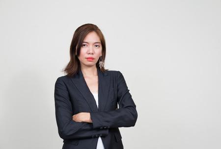 southeast asian ethnicity: Portrait of Asian businesswoman