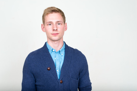 hombres jovenes: Retrato de joven