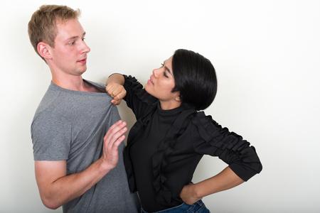 interracial couple: Interracial couple