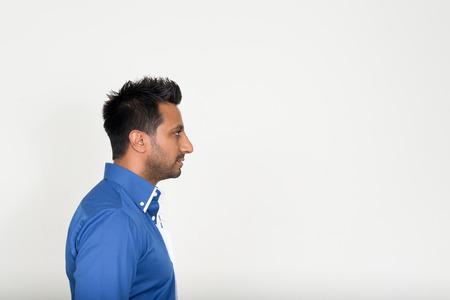 profil: Portret mężczyzny