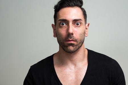 occhi grandi: L'uomo con grandi occhi