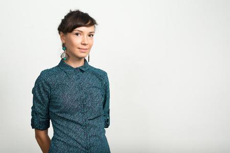 portrait: Portrait of woman Stock Photo