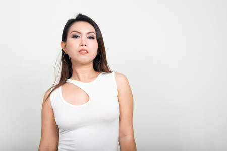 female pose: Thai woman Stock Photo