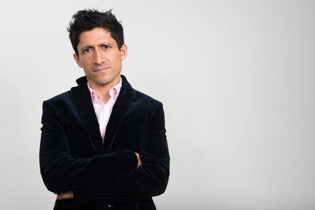 beau jeune homme: Portrait d'homme d'affaires Hispanique