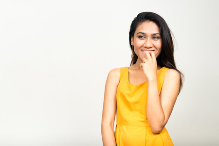only young adults: Portrait of Asian woman Stock Photo