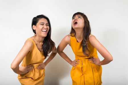 lesbian: Portrait of lesbian couple Stock Photo