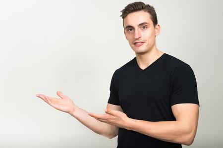 endorsing: Man presenting