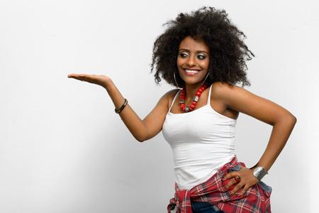 ethiopian ethnicity: African woman presenting