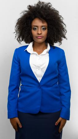 ethiopian ethnicity: Portrait of businesswoman
