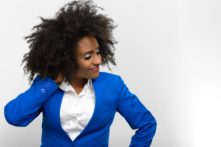 black professional: Beautiful African woman