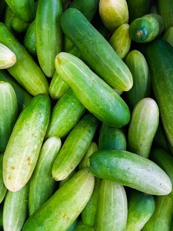 Full Frame Shot Of Cucumbers Vertical Shot