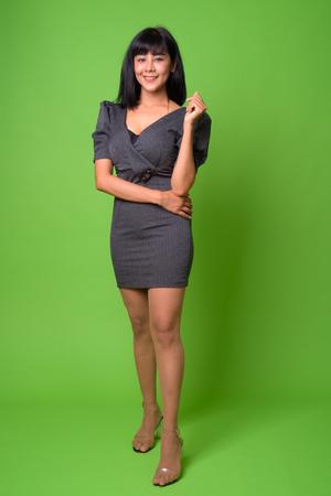 Young beautiful Asian businesswoman Stock Photo