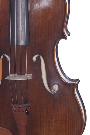 violins: A violin viola isolated against a white background in the vertical format.