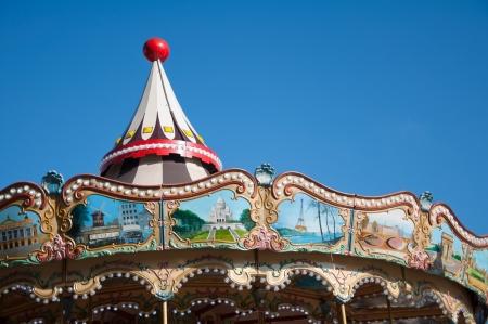 merry go round: Carousel in Paris