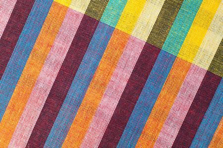 Closeup texture of Fabric, Thai style loincloth photo