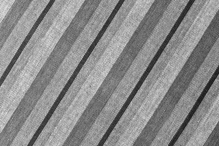 Black and White Closeup texture of Fabric, Thai style loincloth photo