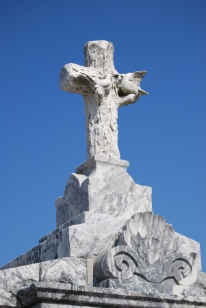 New Orleans Cemetery Cross