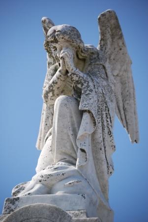 New Orleans Graveyard Angel Banco de Imagens