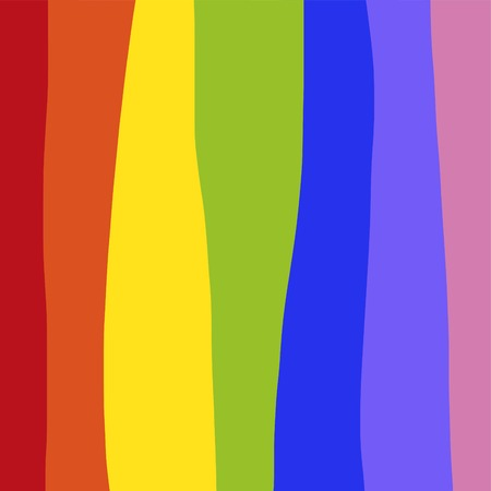 Rainbow abstract background vector illustration