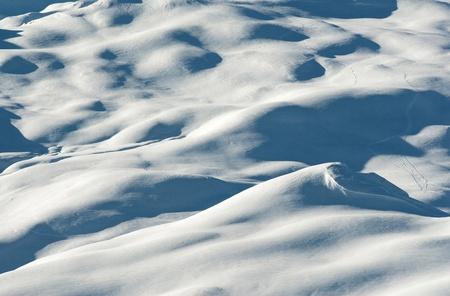 Mountain snow photo