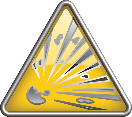 Explosion  icon, symbol