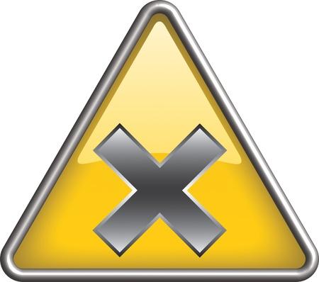 Irritant hazard icon symbol, icon