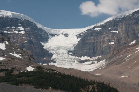 icefield: Athabasca Glacier in Jasper National Park