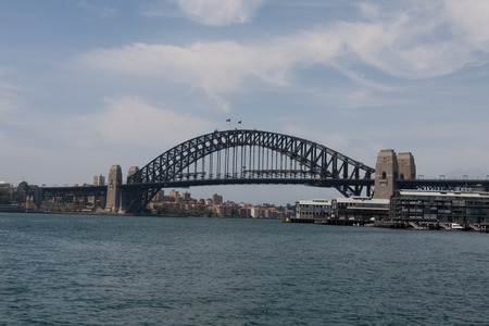 sydney harbour bridge: Sydney Harbour Bridge shoot from the ferry