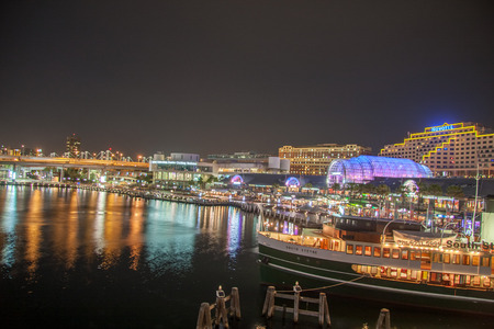 darling: Sydney, Darling harbour shoot by night