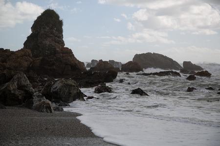 mare agitato: Mare mosso, l'acqua di massima sulla costa