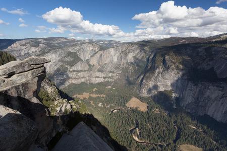Panorama of Yosemite Valley
