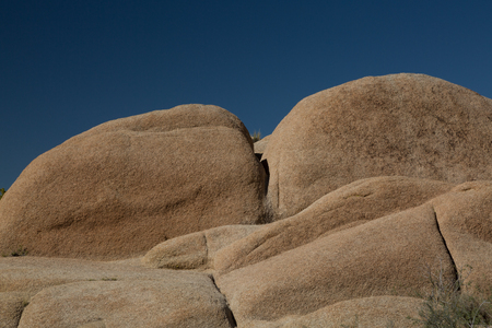 Big Rocks in the National Park