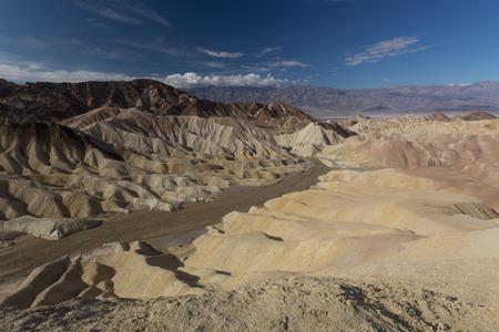 Zabriskie Point Death Valley 版權商用圖片 - 53620237