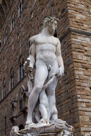 Neptune Fountain - Florence, Tuscany, Italy