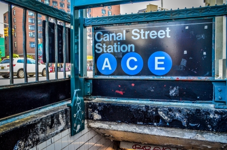 Canal Street Subway Station - New York City