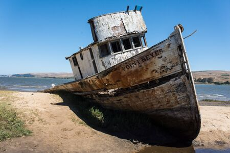 Point Reyes Shipwreck in California, Marin County
