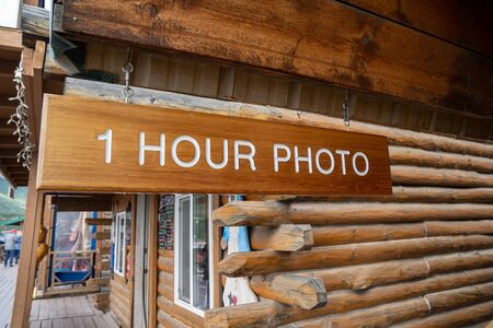 One hour photo for film processing photography 版權商用圖片 - 138708470