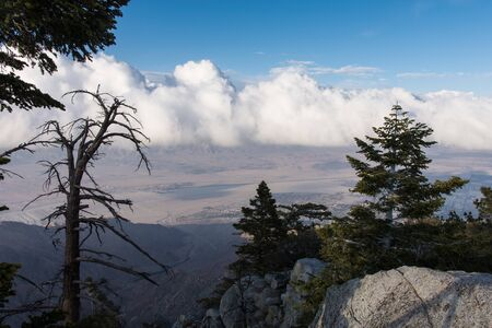 View of the Coachella Valley from the Palm Springs Aerial Tramway