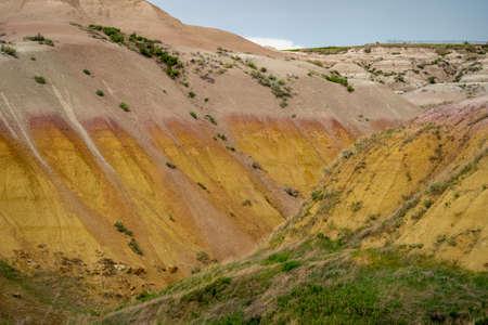 Badlands National Park near Yellow Mounds Overlook