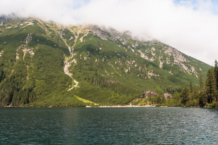 oko: Mountain chalet by the Morskie Oko lake