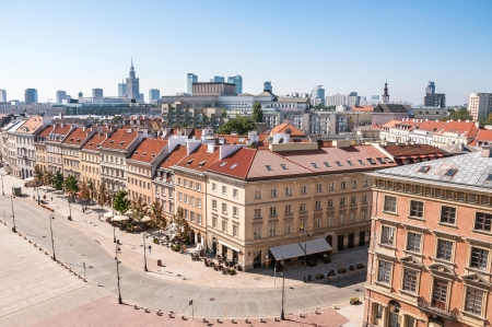 krakowskie przedmiescie: Krakowskie Przedmiescie in Warsaw, one of the best known and most prestigious streets of Poland