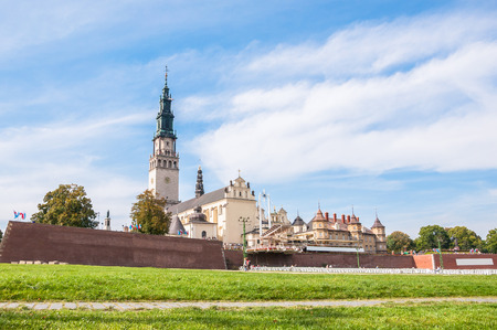 The Jasna Gora sanctuary in Czestochowa, one of the most popular religious places in Poland