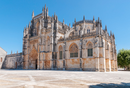 vitoria: Monastery of Santa Maria da Vitoria, Batalha, Portugal Stock Photo