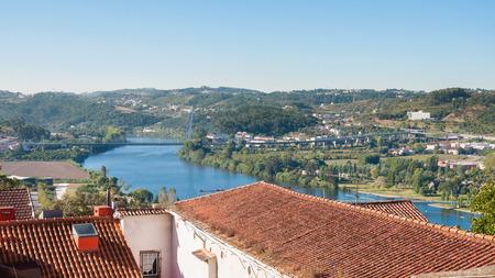 elisabeth: View of the Mondego River and the Queen Elisabeth Bridge in Coimbra