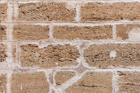 hollow walls: Background. The texture of old airbrick wall